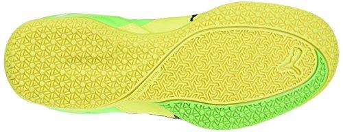 Puma Gavetto Sala, Botas de Fútbol Unisex Niños Amarillo (Safety Yellow-puma Black-green Gecko 15)