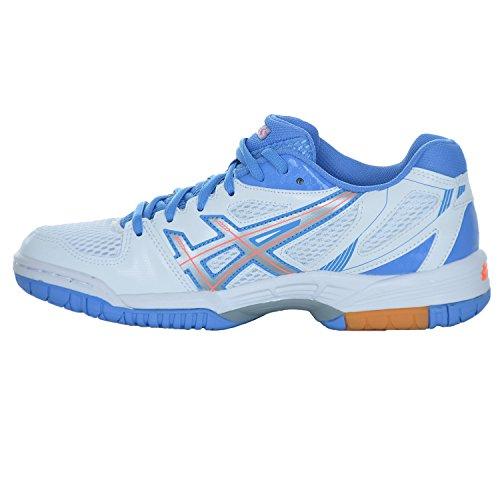 Asics Ladies Scarpe Sportive Da Sala / Scarpe Da Badminton In Gel Flare 5 W Bianco