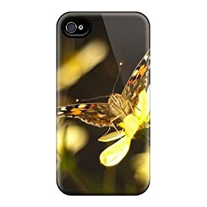 Saraumes Iphone 4/4s Hard Case With Fashion Design/ OQabOzW2464putIr Phone Case