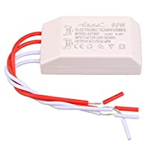 110/220V-12V 60W Halogen Dimmable LED Lamp Electronic Transformer Power Supply Drive Adapter
