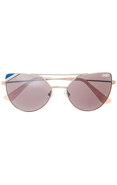 Superdry SDR Amelia Gafas de Sol, Multicolor (Matte Silver ...