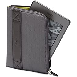 Amazon Kindle Zip Sleeve, Graphite (fits Kindle Paperwhite, Kindle, and Kindle Touch) (Certified Refurbished)