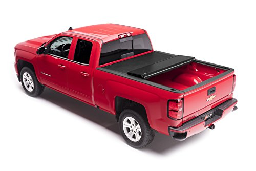 Bak Industries 162100 BAKFlip VP Vinyl Series Hard Folding Truck Bed Cover Rails Mounted Low Enough To Use Standard C Clamps [Available While Supplies Last] BAKFlip VP Vinyl Series Hard Folding Truck Bed Cover