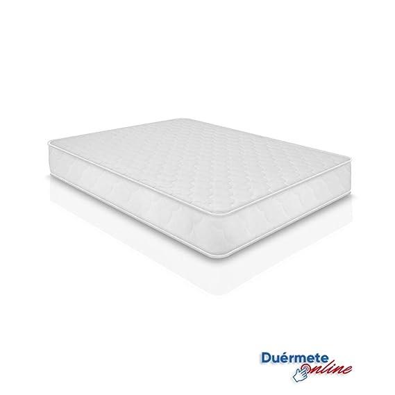 Duermete Gran Confort-Colchón Viscoelástico Memory Relax Reversible, Viscogel, Blanco, 150x180: Amazon.es: Juguetes y juegos