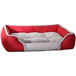 Smdoxi pet Dog cat Bed Puppy Square Cushion Room Warm Soft Kennel Dog Blanket New Home pet Supplies