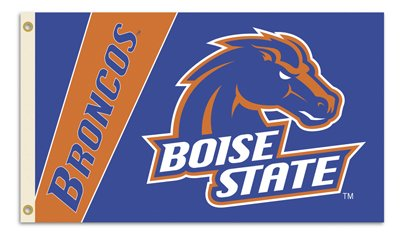 NEOPlex Premium 3' x 5' Two Sided College Flag - Boise State