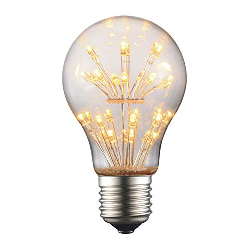 Edison Light Bulbs A60 220V E27 Tungsten Incandescent Bulbs Retro Party Lighting Decoration