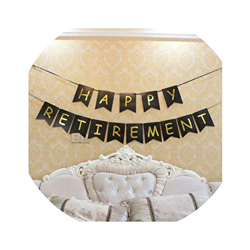 The Legend Has Retired Happy Retirement Banner Flag Window Wall Hanging Birthday Party Decorations,Happy Retirement