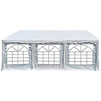Amazon.com : 20 ft by 20 ft White Canopy Pole Tent