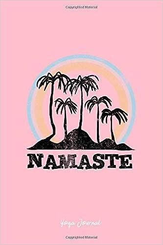 Yoga Journal: Lined Journal - Namaste Palm Trees Beach Yoga ...