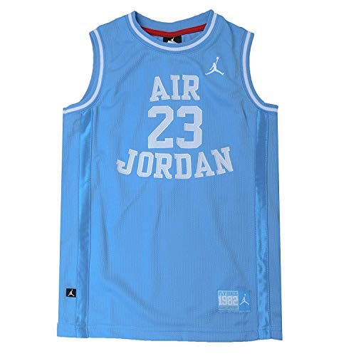 Nike Jordan Boy's Youth Classic Mesh Jersey Shirt (L(12-13YRS), Univer.Blue)