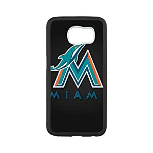 Miami Dolphins Samsung Galaxy S6 Cell Phone Case White 218y3-161051