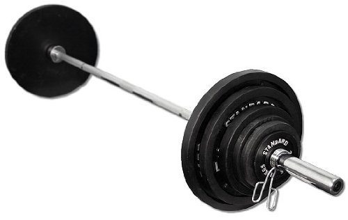 DF820 Power Rack with 300 lb. Olympic Weight Set by Deltech Fitness (Image #1)