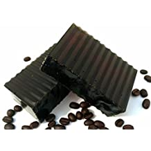 Starbucks Coffee Exfoliating Scrub Soap with Peppermint Scent by Ladybug Soap Company