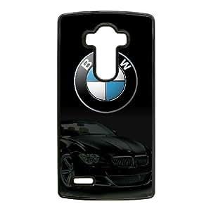 Bmw Logo Funda Caso E2D6Vr Funda LG G4 del teléfono celular Negro B2C0GI teléfono móvil Cubiertas Uk