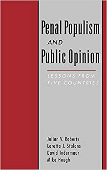 Libro Epub Gratis Penal Populism And Public Opinion: Lessons From Five Countries