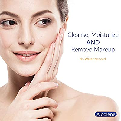 Albolene Moisturizing Cleanser | 3-in-1 Skin Care Product: Makeup Remover, Facial Cleanser and Moisturizer | No Soap or…