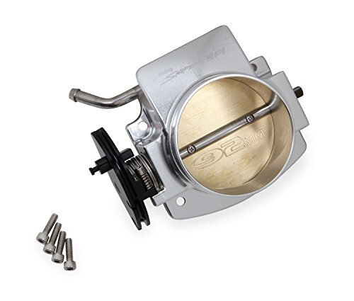 Holley 860001-1 Sniper EFI Throttle Body 92 mm. Billet Aluminum Silver Sniper EFI Throttle -