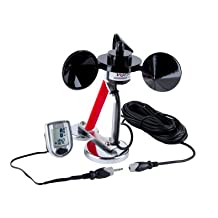Magnetic Mount Anemometer Wind Meter by Inspeed