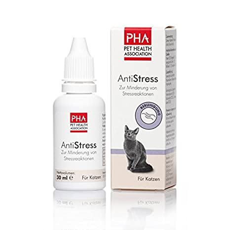 PHA-2 antiestrés gota F. Gatos 30 ml gota: Amazon.es: Productos para mascotas