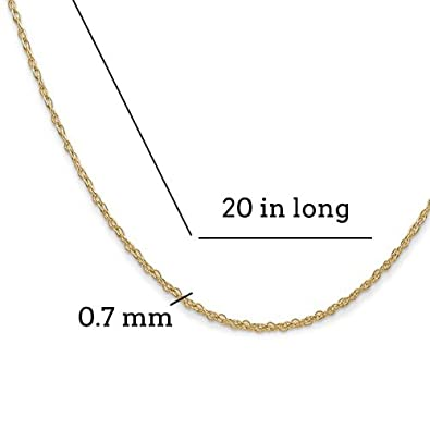 Box or Curb Chain Necklace 14k Yellow Gold 3-D Lighthouse Pendant on a 14K Yellow Gold Rope