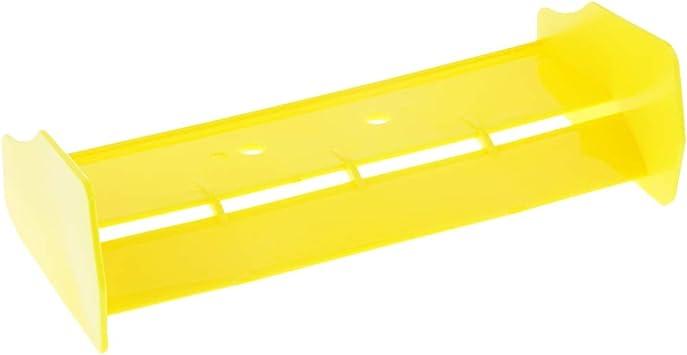 Homyl 1/10 Alerón Trasero ala de Cola Rear Spoiler Tail Wing para HSP 94106 94107 94166 RC Coche - Amarillo: Amazon.es: Juguetes y juegos