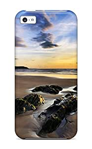 New Style Case Cover Woolacombe Sands Uk/ Fashionable Case For Iphone 5c 8978287K42598481