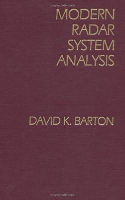 Modern Radar System Analysis (Artech House Radar Library) by David K. Barton (1988-06-30)