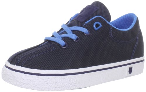 K-Swiss 22925 Clean Laguna T VNZ Sneaker (Infant/Toddler),Navy/Brilliant Blue,9 M US Toddler
