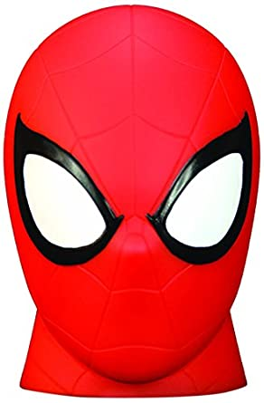 Spider-Man Marvel Illumi-Mate Lampe à couleur changeante, Rouge Spearmark 50747