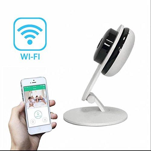 Wireless ip kamera Alarmanlagen Überwachungskamera Leistungsstarke Ir Leds 4 Fach Digitaler Zoom ,Gegensprechfunktion,Full HD Web ip kamera Alarmanlagen mit 1280*720p,1.3MP Internet Real-time Remote Safety Monitoring