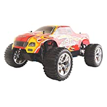 ALEKO® 1088U 4WD Vertex 18 CXP Nitro Powered High Speed Off Road Monster Truck, Red 1/10 Scale