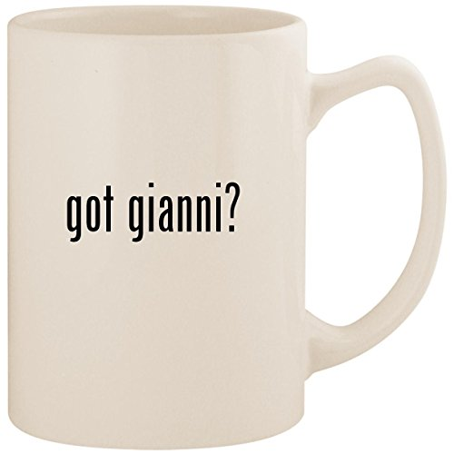 got gianni? - White 14oz Ceramic Statesman Coffee Mug Cup