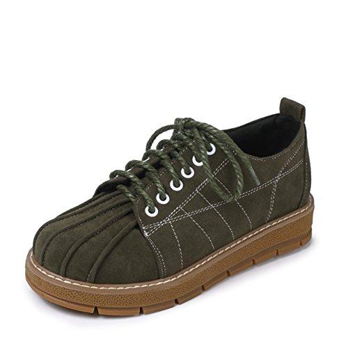 zapatos de fondo plano profundos/zapatos de corte bajo las correas del viento College C
