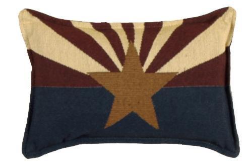 Tapestry Toss Decorative Pillow - Arizona Flag USA 9