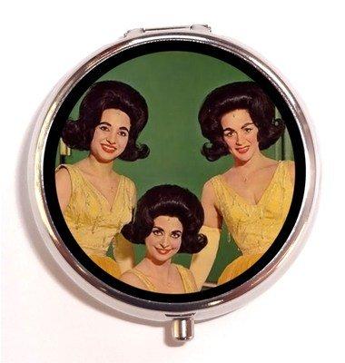Beehive 1950's 1960's Retro Hairdo Women Kitsch Pill Box Case Pillbox (1950 Hairdos)