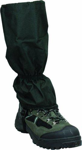 Highlander Mens Elasticated Polyester Classic Gaiters Black