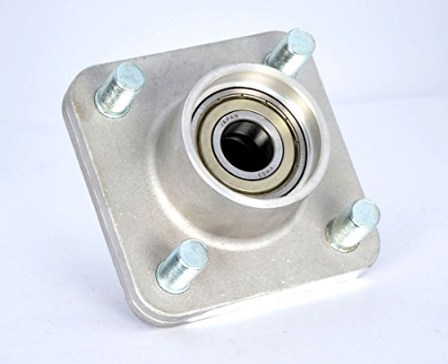 10L0L RXV 609603 Golf Cart Front Wheel Hub Assembly Fits Gas & Electric Golf Carts, Years 2008 & Up for EZGO - Fit Front Wheel