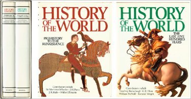 History of the World (Prehistory to the Renaissance; The Last Five Hundred Years) (Boxed)