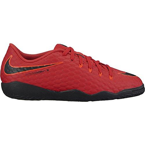 Football Rouge Nike Noir Phelon Hypervenomx Jr Chaussures Iii Enfant De Mixte Ic aw0Uw