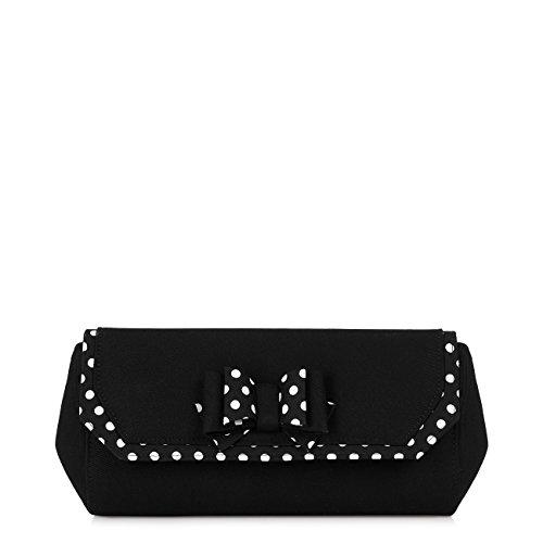 Court Women's Shoe Shoo White Ivy Bow Matching Pumps Black Bag amp; Ruby Brighton Xq5IwaOw