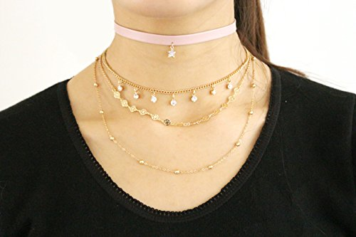 VK Accessories Multilayered Necklace Necklaces