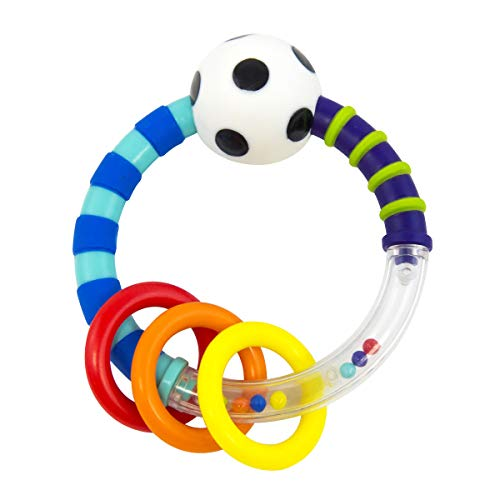 Sassy Ring Rattle  |  Developmental Baby Toy for Early Learning  |  High...