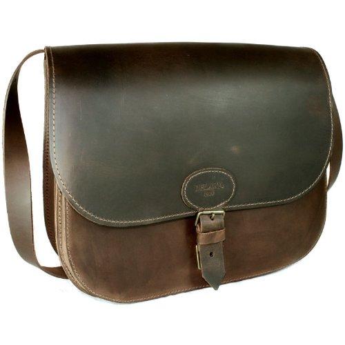 DELARA Große Jagdtasche aus Ranger-Leder - Made in Germany
