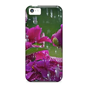 Premium [urT5774sGfS]flowers Case For Iphone 5c- Eco-friendly Packaging