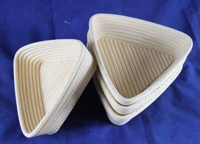 HOT- Storage Baskets 1PC Bread Proving Proofing Rising Rattan Basket Banneton Brotform Fermentation Rattan Basket - by Tini - 1 PCs by Chamomile.
