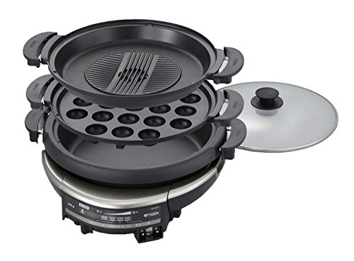 Tiger Grill Pan Three Plate Cqd-b300-th Cqd-b300-th