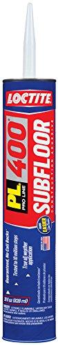 Loctite 1602142-12 PL 400 Subfloor and Deck Voc Construction Adhesive, 28 Ounce Cartridges, Case of 12