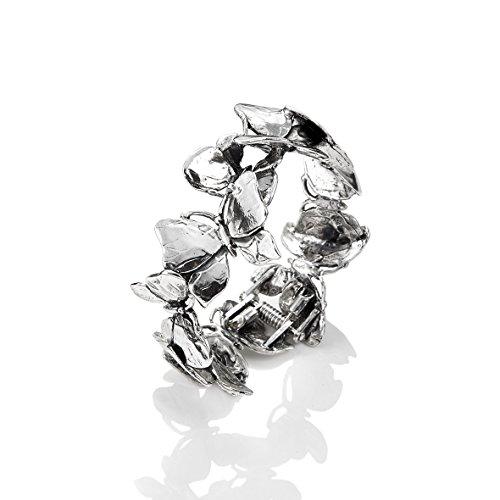 Bracciale argento bangle Farfalle Giovanni RASPINI