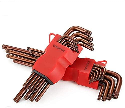 ブロンズトルクススパナーホーム修理ツールアクセサリーS2スパナー9ピースセット
